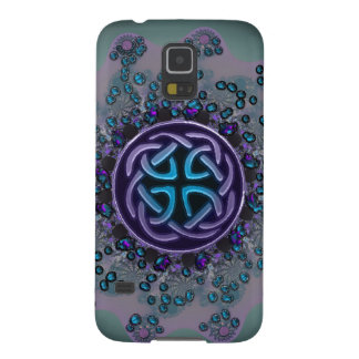 Jeweled Celtic Fractal Mandala Galaxy S5 Case