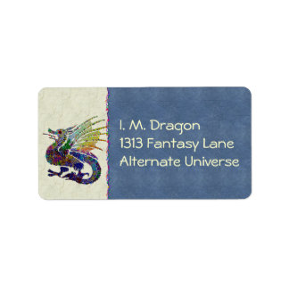 Jeweled Dragon Label