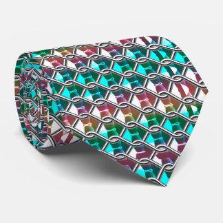 Jeweled Glass Effect Tie