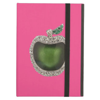 Jeweled Green Apple Case For iPad Air