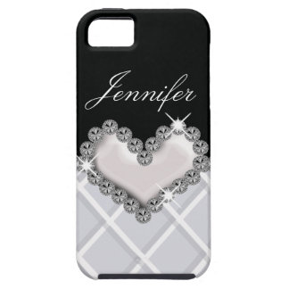 Jeweled Heart iPhone Case