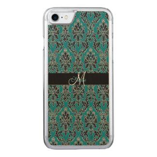Jeweled Jade Damask Boho Glam Carved iPhone 7 Case