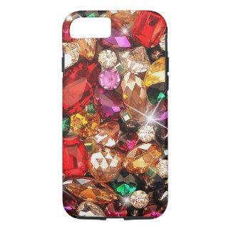 Jeweled Jewels Sparkle Gems Color iPhone 8/7 Case