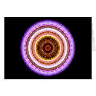 Jeweled Mandala Card