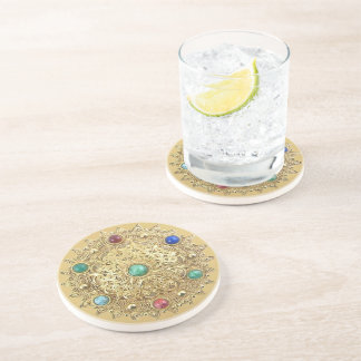 Jeweled Medallion Coaster