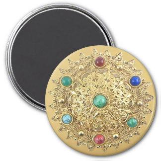 Jeweled Medallion Magnet