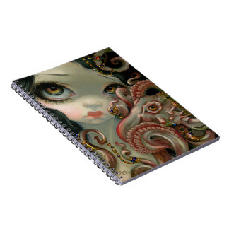 """Jeweled Octopus"" Notebook"