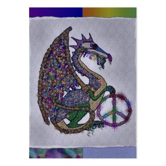 Jeweled Peace Dragon Large Business Card