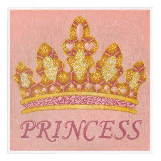 Jeweled Princess Crown by Chariklia Zaris Acrylic Wall Art