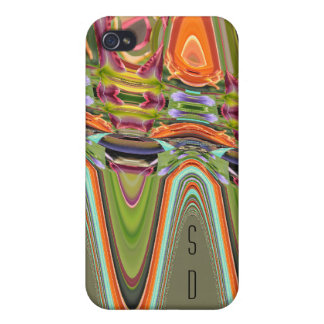 Jeweled Vibes iPhone 4 Case
