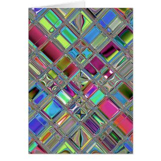 Jewelee Modern Mosaic Art Card