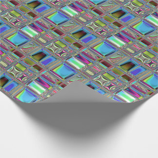 Jewelee Shiney Mosaic Art Wrapping Paper