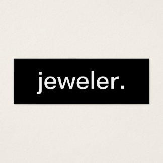 Jeweler Business Card
