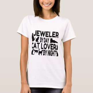 Jeweler Cat Lover T-Shirt