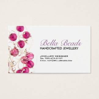 Jewelery Designer Business Card