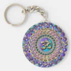 Jewelled Astrosymbology Mandala Keychain