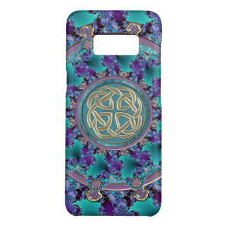 Jewelled Fractal Mandala with Celtic Knot Case-Mate Samsung Galaxy S8 Case