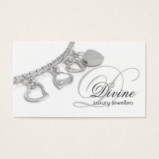 Jewellers Monogram Business Card