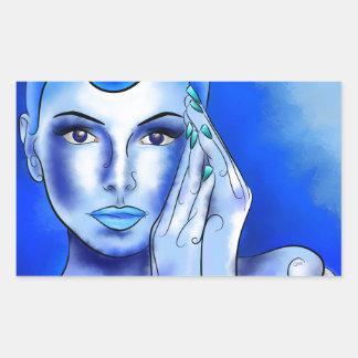 Jewellisina V1 - blue treasure Sticker
