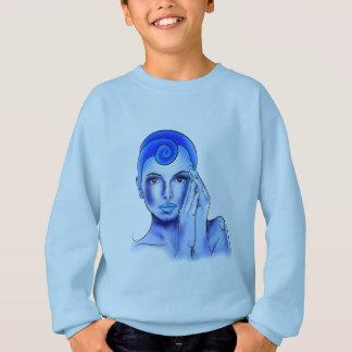Jewellisina V1 - blue treasure Sweatshirt