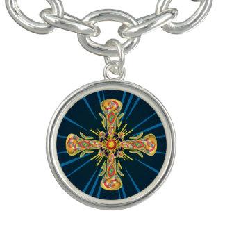 Jewelry cross bracelet