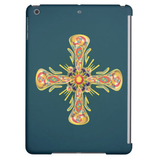 Jewelry cross iPad air cover