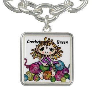 "Jewelry Hobby Series ""Crochet Queen"" Bracelets"
