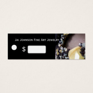 Jewelry Merchandise Price Tags Mini Business Card