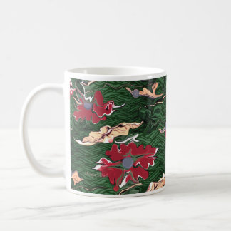 Jewels abstract art mug