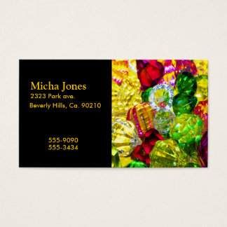 Jewels & Gems Of Brilliant Color Business Card