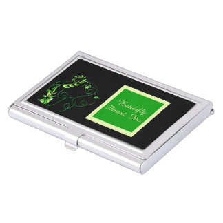 Jewels in Black 2 Business Card Holder