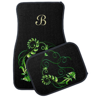 Jewels in Black 2 Car Mat