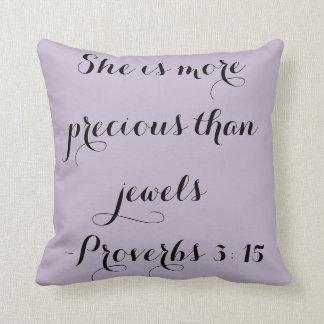 Jewels-Pillow Throw Pillow