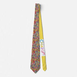Jewish Alphabet Neck Tie
