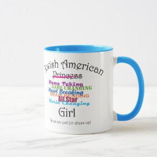 Jewish American Girl Mug