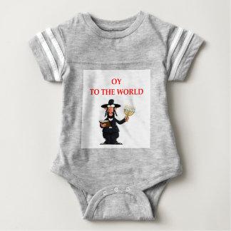 jewish baby bodysuit