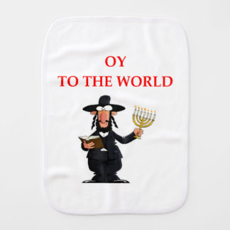 jewish burp cloth