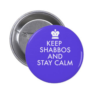 Jewish Button-Keeping Calm-The New Way 2 Inch Round Button