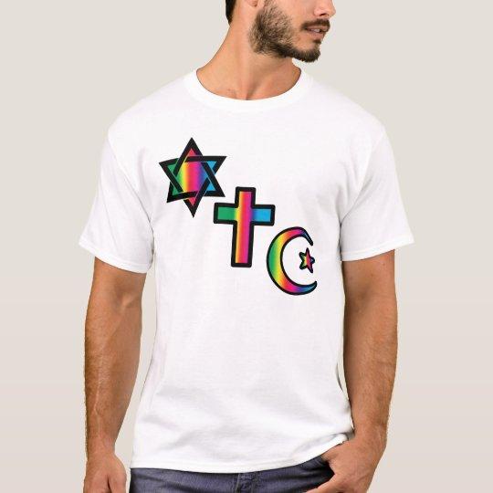 Jewish - Christian  - Islamic T-Shirt