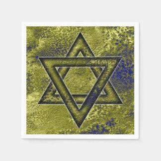 Jewish Decorating Idea, Star of David Paper Napkin