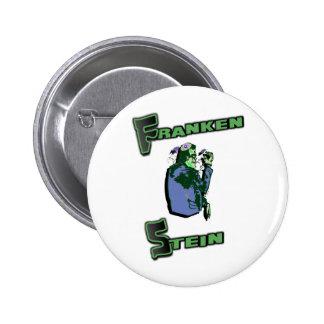 Jewish Franken Stein 2 Inch Round Button