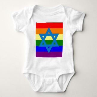 Jewish Gay Pride Flag Tshirt