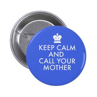 Jewish Gift Button-Keep Calm 2 Inch Round Button