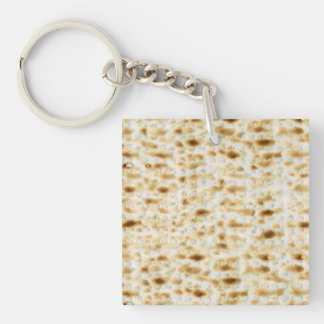 Jewish Gift-Key Chain-Passover Double-Sided Square Acrylic Keychain