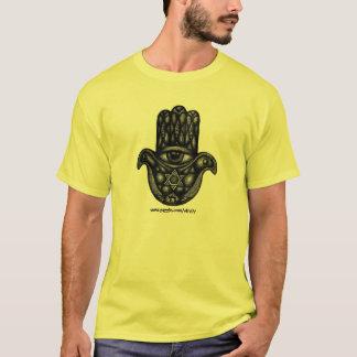 Jewish hand Hamsa ink drawing case design T-Shirt