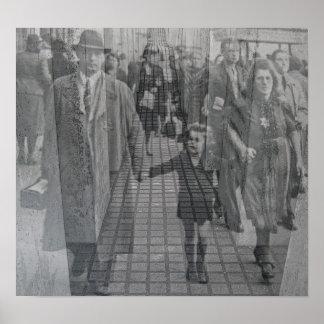 Jewish Holocaust Memorial (Denkmal), Berlin (j5pst Poster