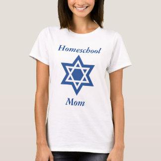 Jewish Homeschool Mom Star of David T-Shirt
