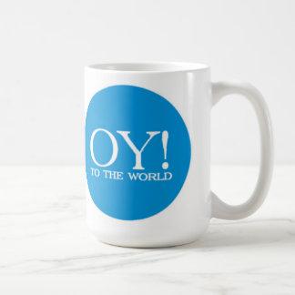Jewish Lg. Mug - Oy! to the World