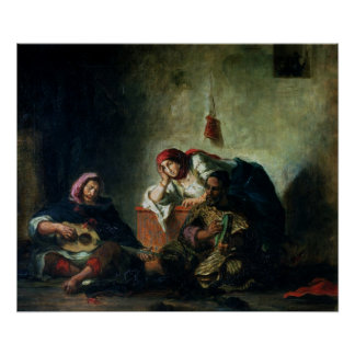 Jewish Musicians in Mogador, 1847 Posters