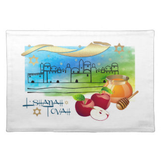 Jewish New Year | Rosh Hashanah Placemats